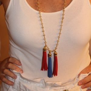 Tassel necklace!